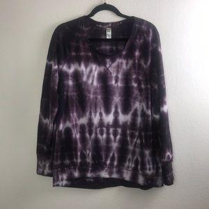 GreenTea Tie Dye Sweater Size Large